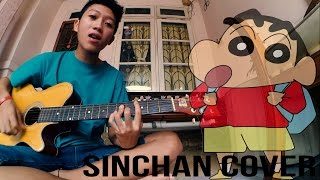 CRAYON SINCHAN THEME SONG ( INDONESIA COVER )