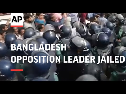 Bangladesh opposition leader jailed for 5 years over corruption case