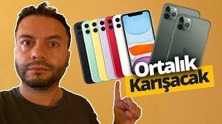 iPhone 11 TÜRKİYE  FİYATI RESMEN AÇIKLANDI 🔥 (ANDROİD TELEFONLAR UCUZLADI!)