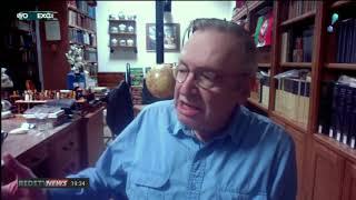 Boris Casoy entrevista o escritor Olavo de Carvalho