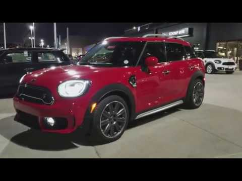 2018 Chili Red Mini Cooper Countryman S All4 Manual