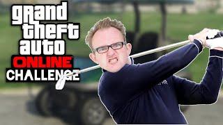 Challenge: Last Man Standing mit GOLFWAGEN 🎮 Grand Theft Auto Online #179