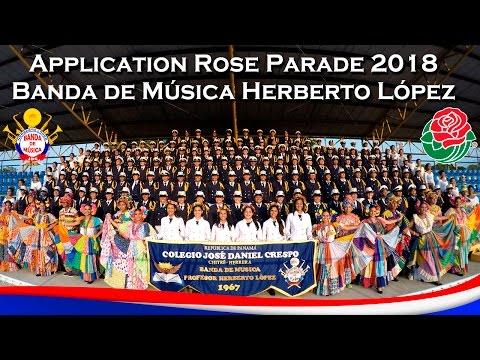 Aplicación para el Desfile de las Rosas 2018 - Banda Herberto López - Panamá