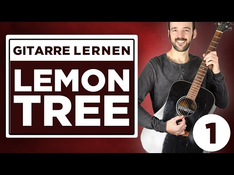 Lemon Tree - Fool's Garden - Gitarre lernen - Teil 1