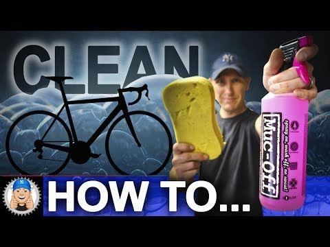 How to Wash and Clean your Bike