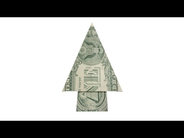 3 Ways To Fold Money For A Tree