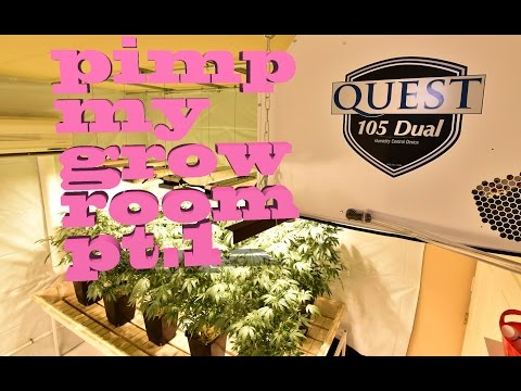 sealed grow room 101 indoor garden setup designs con doovi. Black Bedroom Furniture Sets. Home Design Ideas