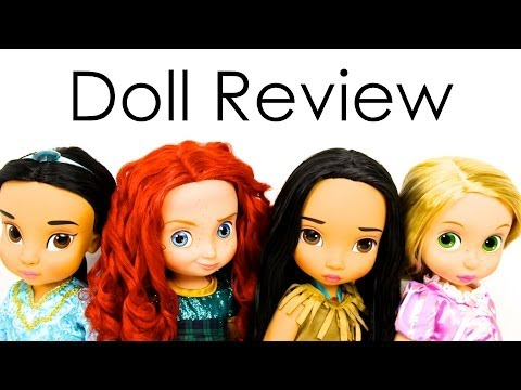 Doll Review: Disney Animator's Collection | Quick Craft : Recycled Doll Bed | The Naveen Show