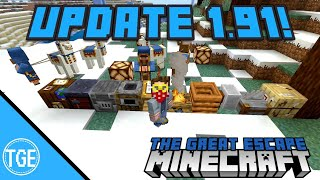 Minecraft: Update 1.91 for PS4 Console Edition! Village and Pillage!