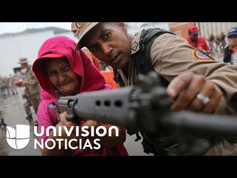 Maduro ordena ejercicios militares en los que participan cientos de civiles