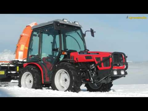 Tractors AGT in winter time