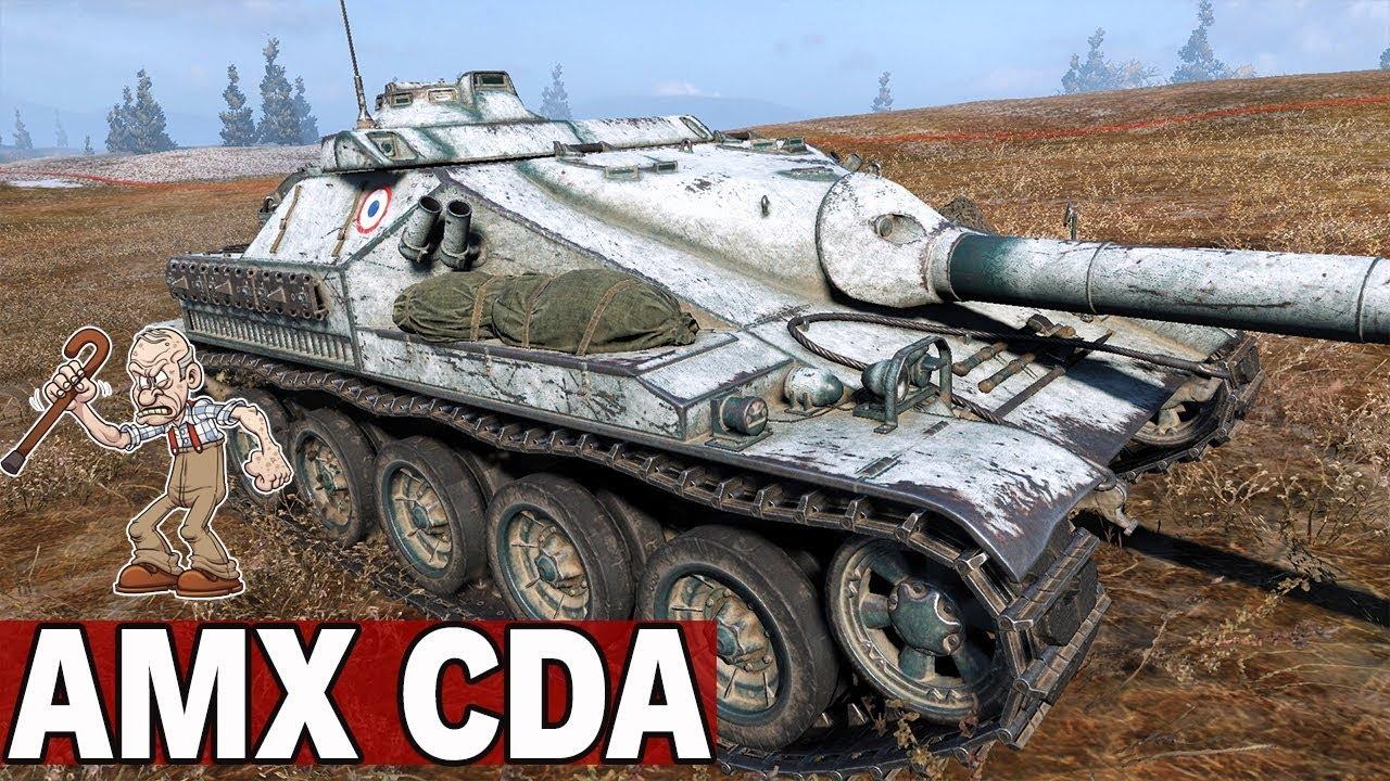 CZAS JEST NAJWAŻNIEJSZY – AMX CDA – World of Tanks