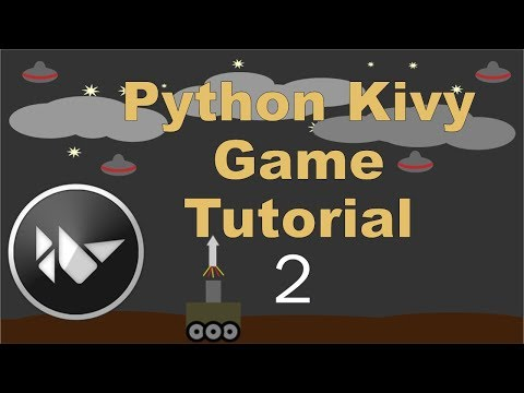 Python Kivy Game Tutorial 2 - Moving (basic) thumbnail