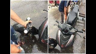 Tin nhanh 24/7 - Exciter 150 gãy cổ đo đường khi độ phuộc Upside down...lời cảnh tỉnh cho biker Việt