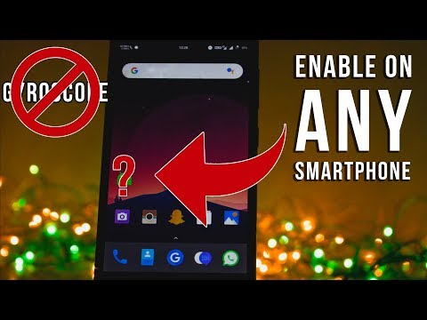 How To Enable Gyroscope On Android [ Root ]