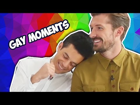 Rami Malek Gay Moments (Bohemian Rhapsody)
