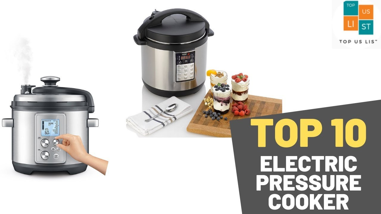 Best Electric Pressure Cooker 2020.Top 10 Best Electric Pressure Cooker 2020 Updated List Youtube