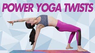Power Yoga | Twist Away Belly Fat!  Tone Your Core, Spinal Flexibility | Julia Marie, YogaBody
