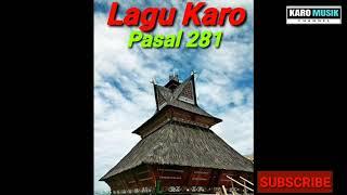 Lagu Karo - Pasal 281