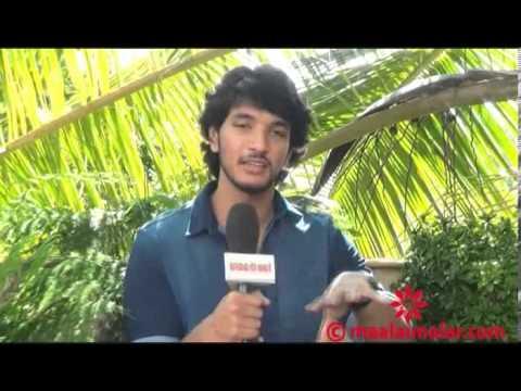 Celebrity interview video - Gautham Karthik