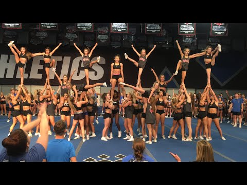Cheer Athletics Panthers Cheer Alliance Showoff 2017