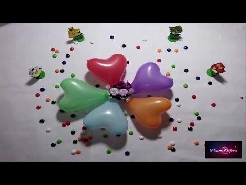 ⚽⚽⚽Water Balloon- 5 Color Wet Balloons - Learn Colours Water Balloon - Funny Balloon