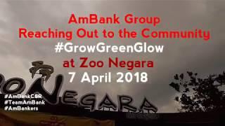 'Grow, Green, Glow' CSR Initiative with Zoo Negara