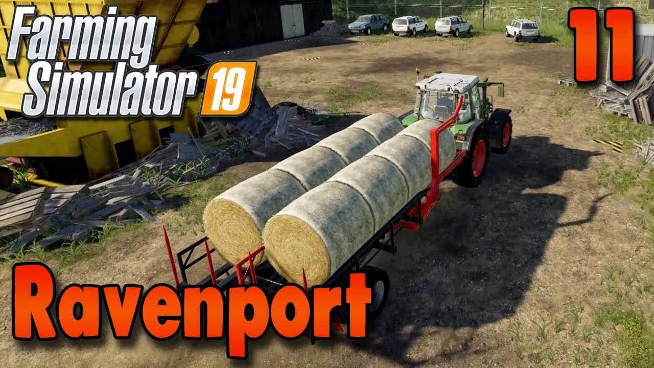 FS19 Timelapse - Ravenport #11 | Autoload Trailer | Gameplay