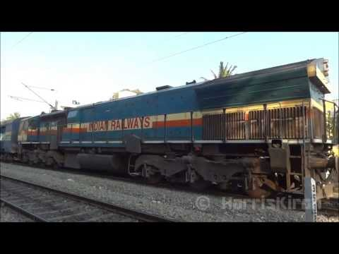 EMD Vs ALCo INDIAN RAILWAYS (Electro Motive Diesel versus ALCo's)