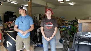 Setting Up Shop - Moving into The Garage