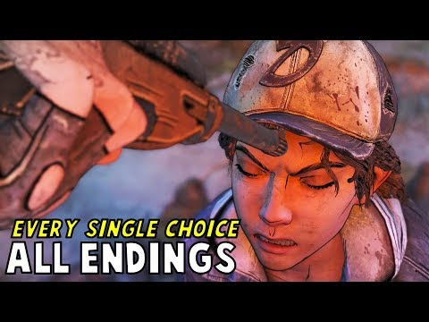 All Endings | Every Single Choice - The Walking Dead The Final Season Episode 2