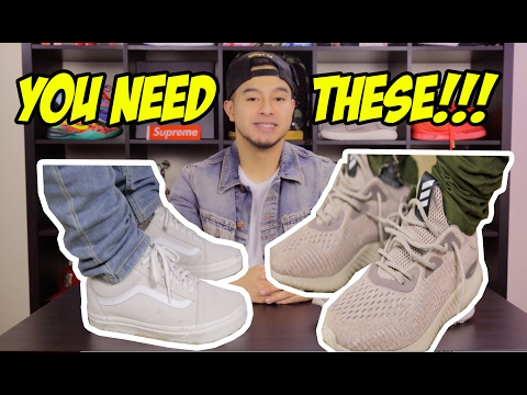 2 GREAT AFFORDABLE SNEAKERS YOU NEED TO OWN!