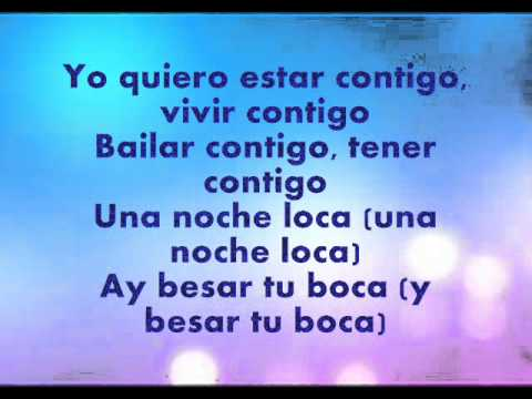 Enrique iglesias bailando testo by valentina lyrics youtube