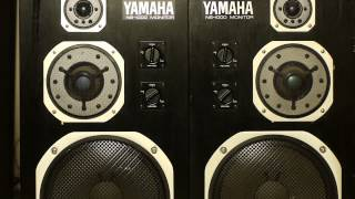 Yamaha NS-1000M Monitor Demo