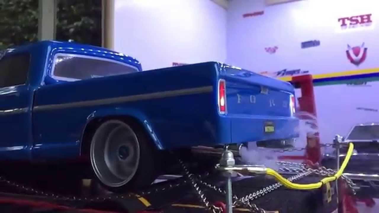 Vaterra 68 Ford F 100 On Dyno Youtube