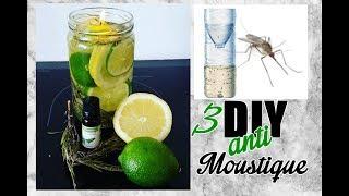 DIY : 3 recettes naturelles anti-moustique
