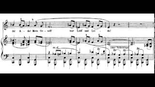 4.- Die zwei blauen Augen von meinem Schatz (Lieder Eines Fahrenden Gesellen - G. Mahler) Score