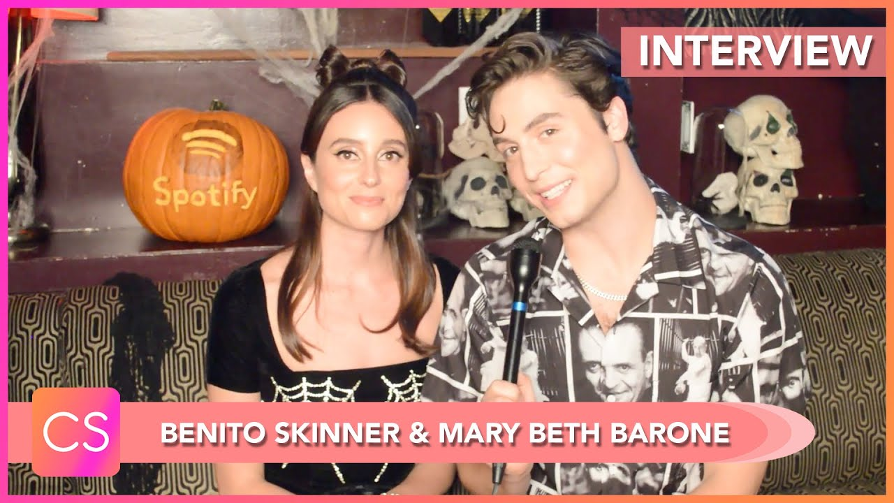 Benito Skinner & Mary Beth Barone Talk OBSESSED Live Halloween Taping, Tease Upcoming Content