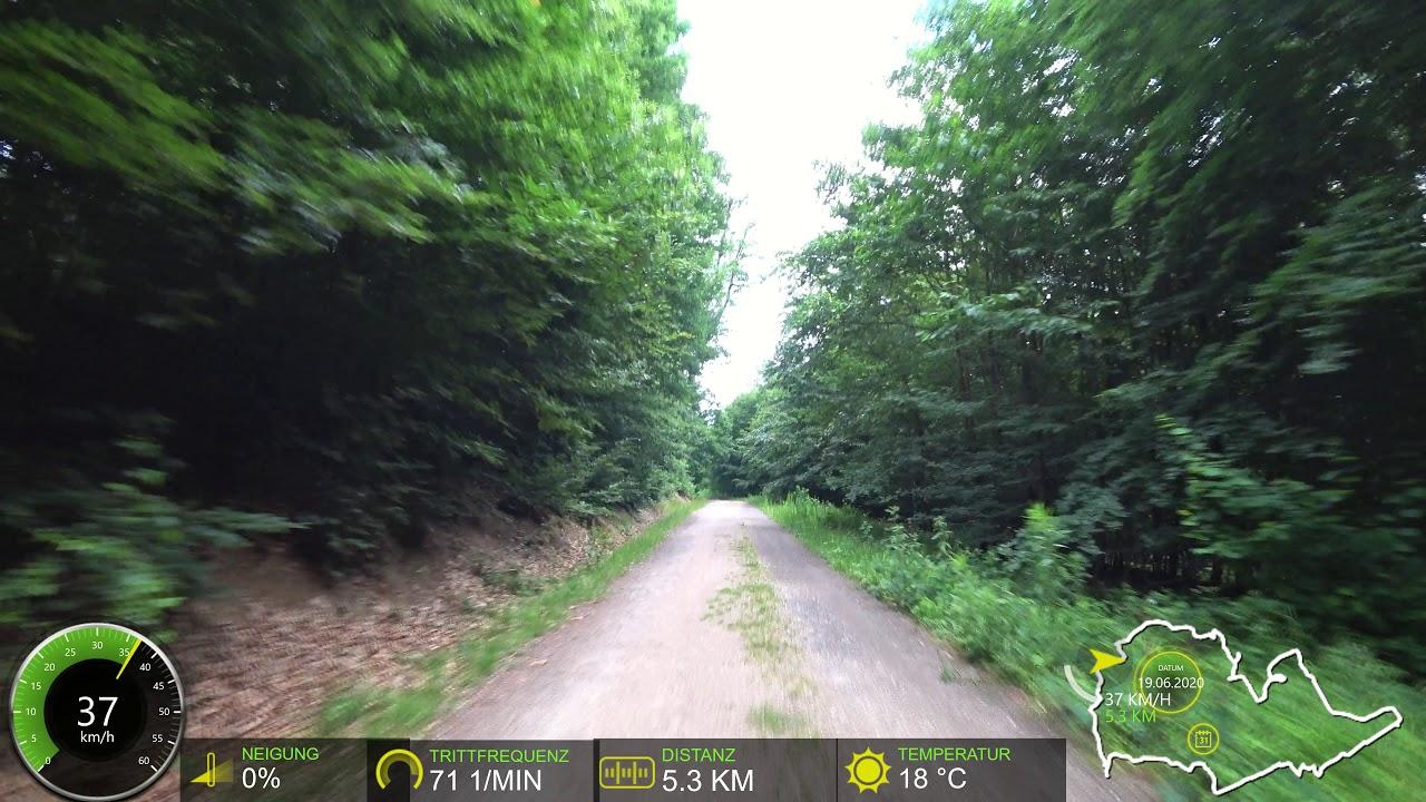 90 minute Indoor intervall Cycling MTB 🚲👍 Training Garmin Display Ultra HD