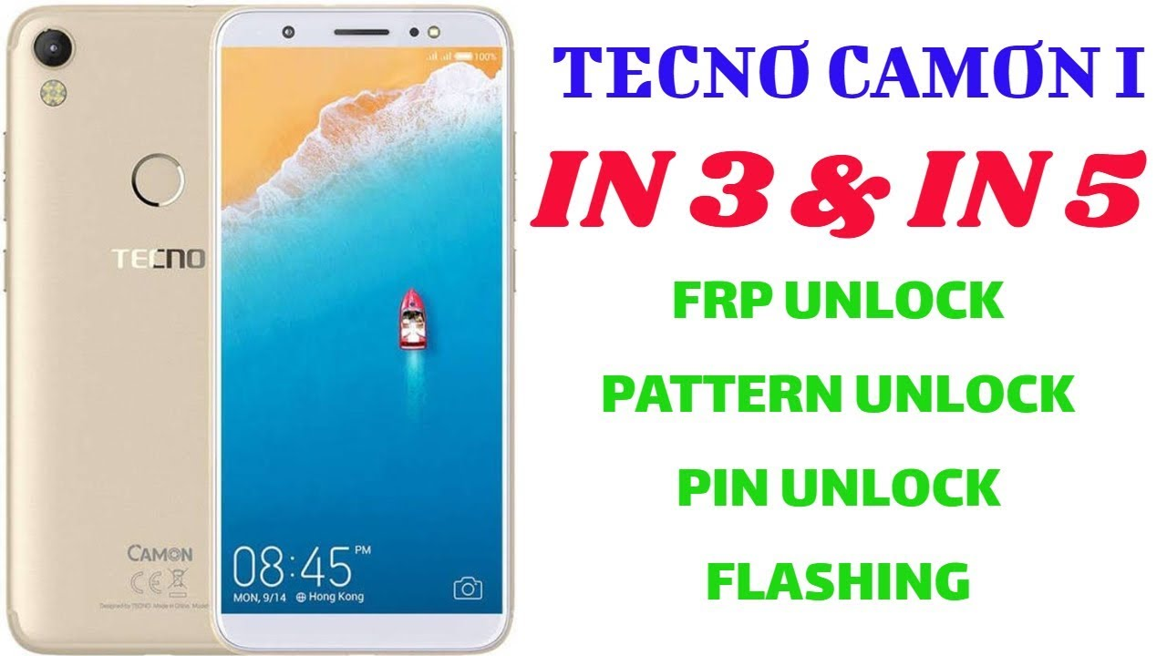 TECNO CAMON I FLASH FILE | TECNO IN3 FLASH FILE |TECNO IN5 FLASH