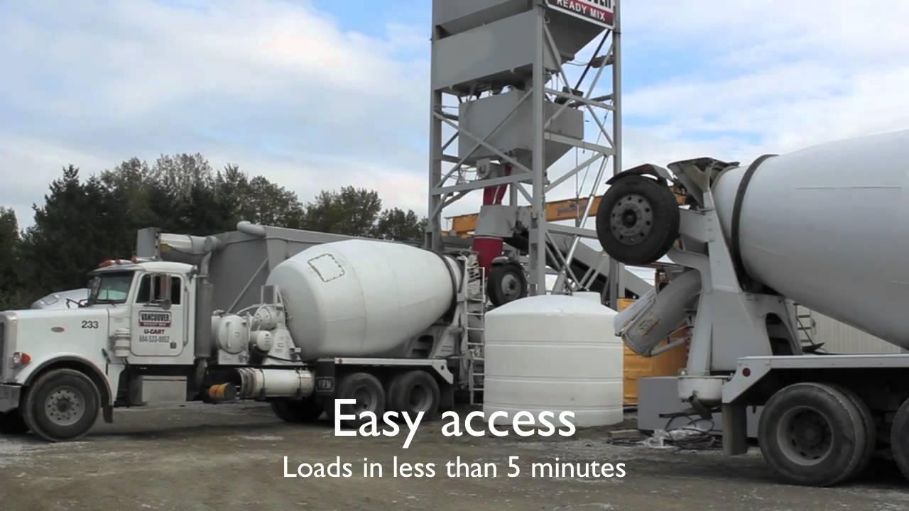 Vancouver Ready Mix Mobile Concrete Batch Plant Hd Version
