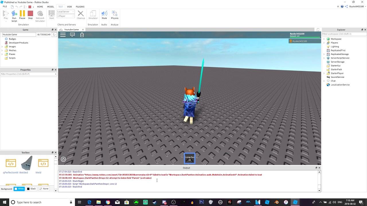 Roblox Studio How To Make Npcs Drop Items Youtube