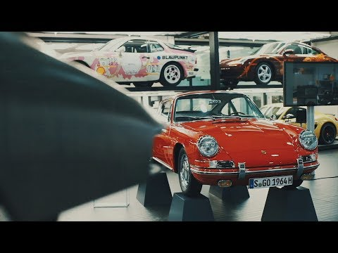 Insights into the Porsche Museum workshop