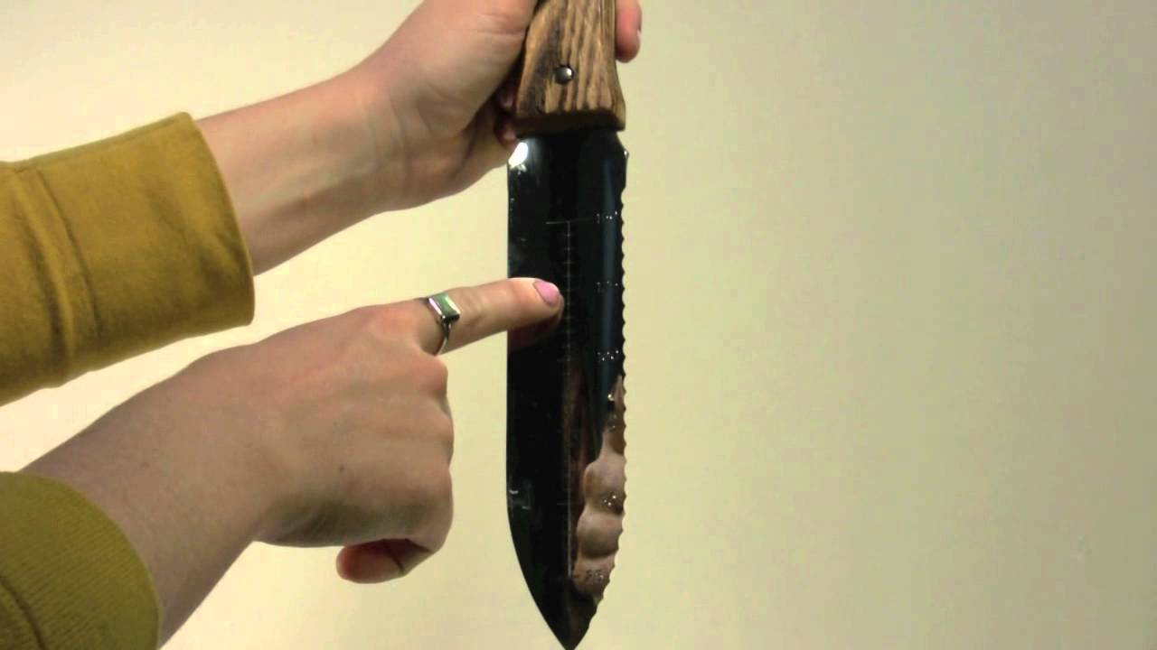 Japanese Hori Hori Gardening Knife   YouTube