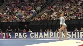 Lauren Hernandez- Floor Exercise - 2016 P&G Gymnastics Championships – Sr. Women Day 2