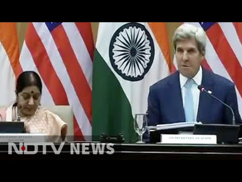From Delhi, a strong message from John Kerry to Pakistan on terror