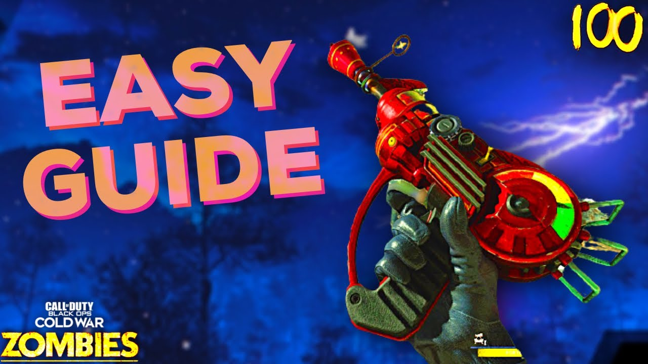 Download The EASIEST High Round Strategy Guide in Cold War Zombies. (Die Maschine)
