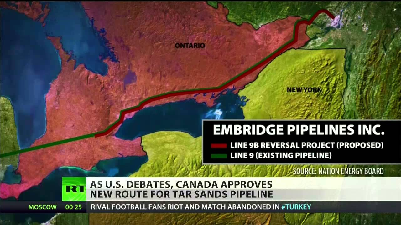 Canada Approves New Pipeline To Carry Tar Sand Oil To Us
