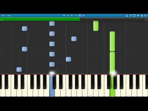 Corale Solo | in a Time Lapse - Ludovico Einaudi ( MIDI / Synthesia / Tutorial )