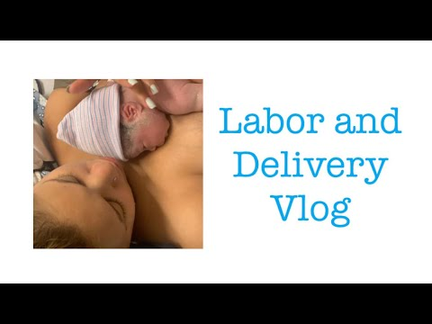 LABOR AND DELIVERY VLOG   TEEN MOM